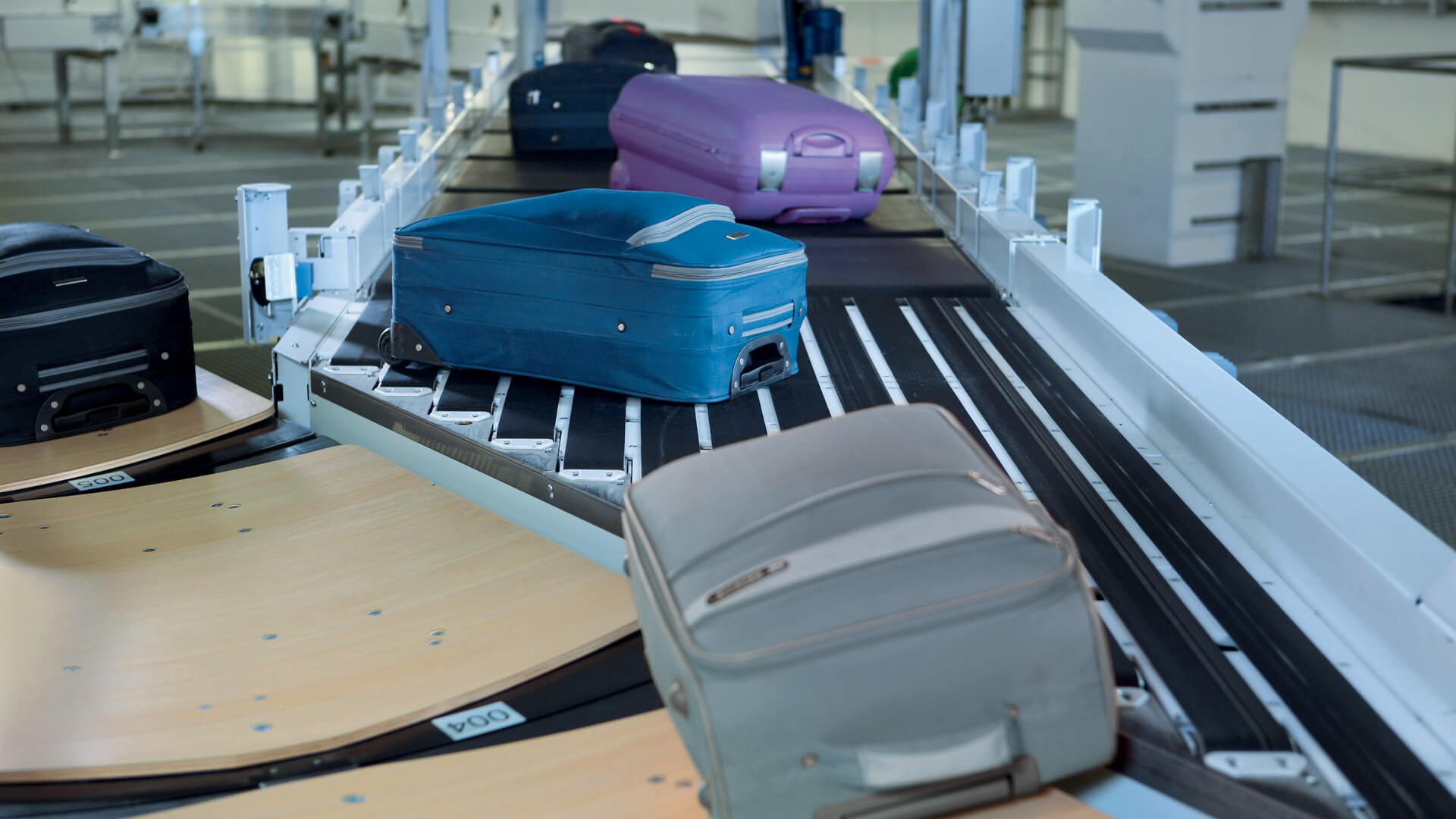 baggage handling system at dubai airport